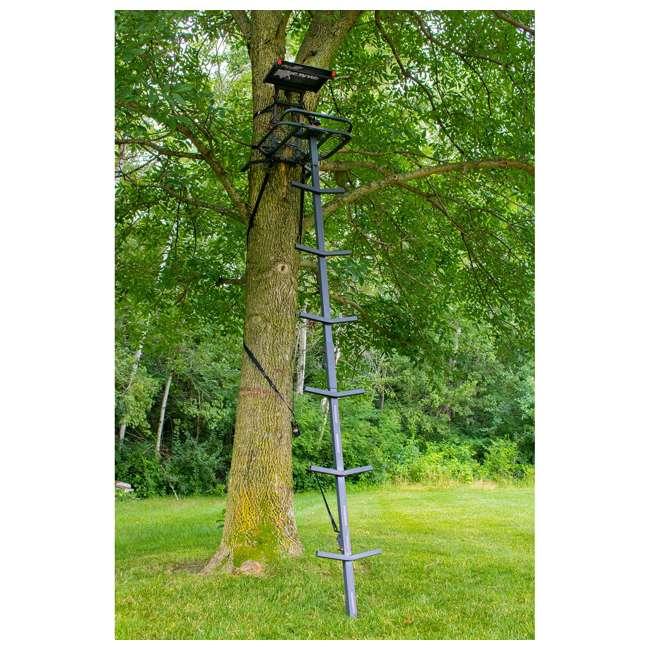 XSLS507 X-Stand XSLS507 Apollo 10 Ft. Portable Deer Hunting Single Man Ladder Tree Stand 3