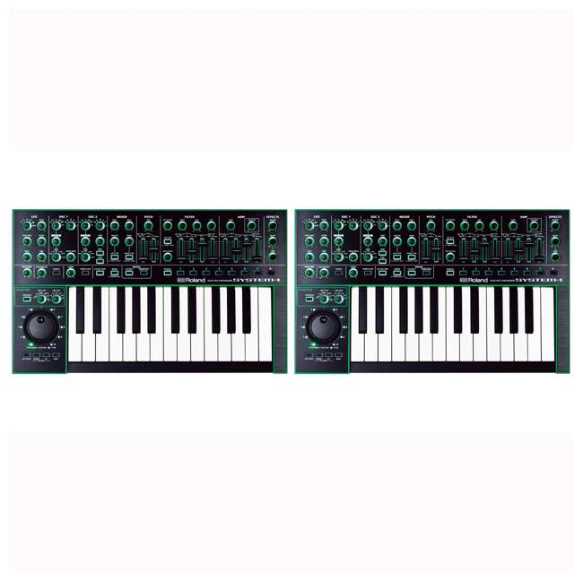 System-1 Roland System-1 Plug Out Synthesizer Keyboard Module (2 Pack)