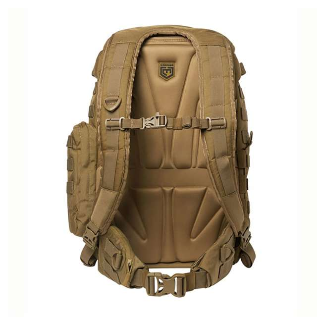 CPG-BP-PHAL-L-C Cannae Pro Gear Full Size 30L Duty Pack w Helmet Carry, Coyote 3
