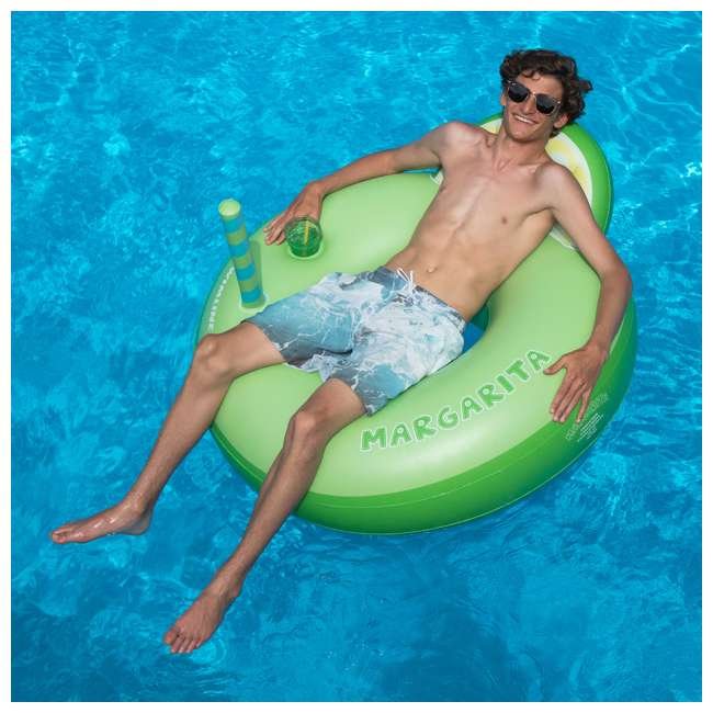 SL-90198 Swimline Inflatable Margarita Swimming Pool Float Tube 1