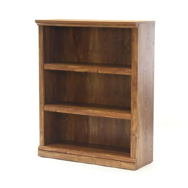 Sauder Furniture Select Collection 3 Shelf Bookcase Chestnut Sf 416347