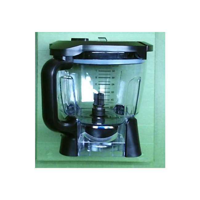 1000202585K-64oz-Bowl Ninja 64 oz Blender Food Processor Bowl and Lid (New Without Box) 1