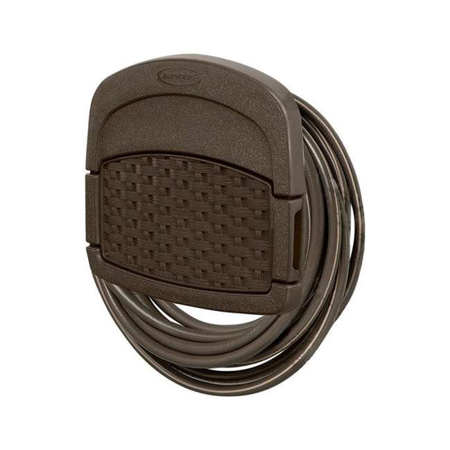 3 x DHW150 Suncast 150-Foot Wicker Garden Hose Hangout, Brown (3 Pack) 3