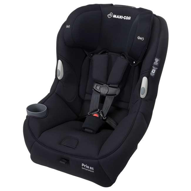 CC201EMJ Maxi-Cosi Pria 85 Car Seat with Base, Night Black (2 Pack) 1