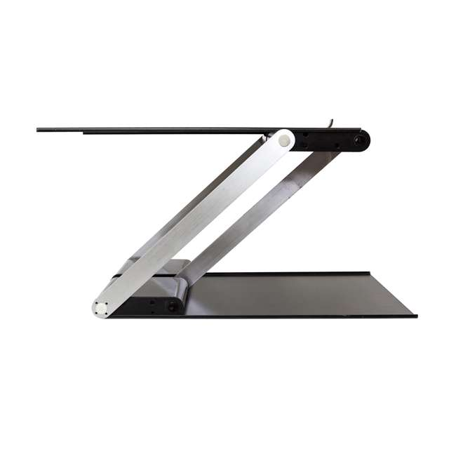 UD-01-BLA Supermoon Products Up2U Height Adjustable Desk, Black (2 Pack) 3