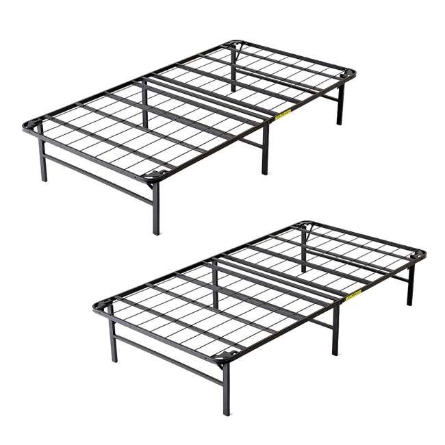 VMI-TIB2-112 intelliBASE Bi-Fold Metal Bed Frame, Twin (2 Pack)