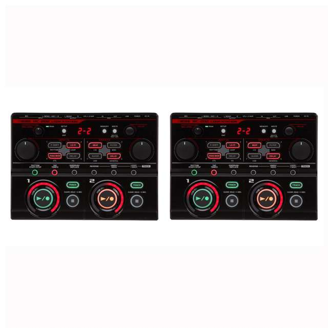 RC-202 Boss RC-202 Tabletop 4-Input 4-Track FX Loop Station (2 Pack)