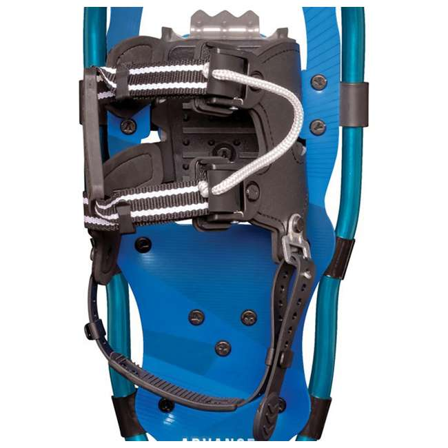 80-3021 Yukon Charlie's 80-3022 Advanced 7x19 Youth Backcountry Hiking Snowshoes, Blue 2