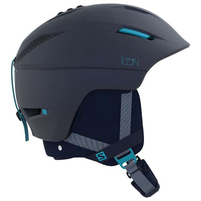 6 x L39913300 - M Salomon Icon2 C.Air Womens Ski Helmet Medium, Blue (6 Pack) 2