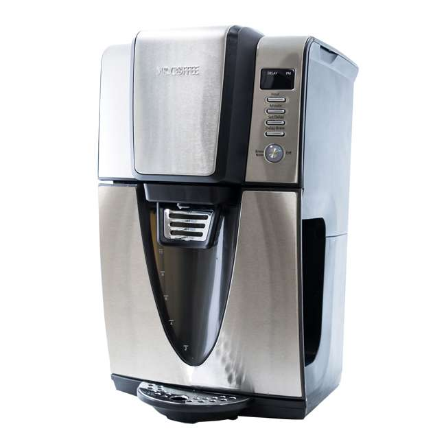 BVMC-ZH1SS Mr. Coffee 24 Hour Programmable 12 Cup Coffee Maker, Stainless Steel (For Parts)