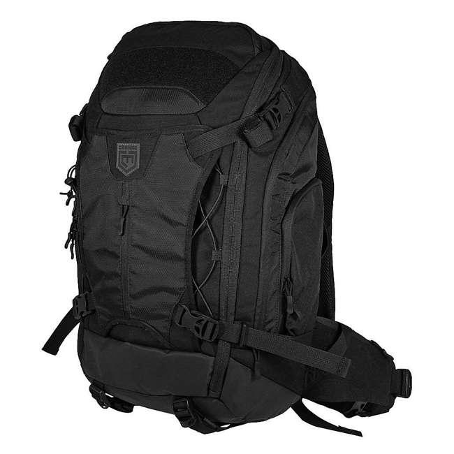 CPG-BP-MRB-L-B Cannae Pro Gear 55 Liter Marius Ruck Sack Backpack, Black