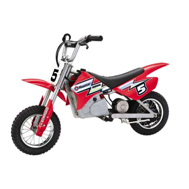 15128095-U-C Razor MX350 Dirt Rocket 24V Electric Motorcycle Bike | Red (For Parts)