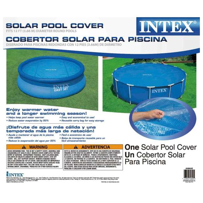 26710EH + 29022E + 28601EG + 2 x 29007E Intex 12 Ft x 30 In Steel Frame Pool | Cover | Filter Pump | H Cartridge 2 Pack 7