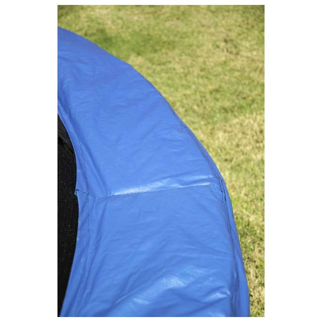 JK10VC1 JumpKing 10 Foot Outdoor Trampoline and Safety Net Enclosure, Blue 6