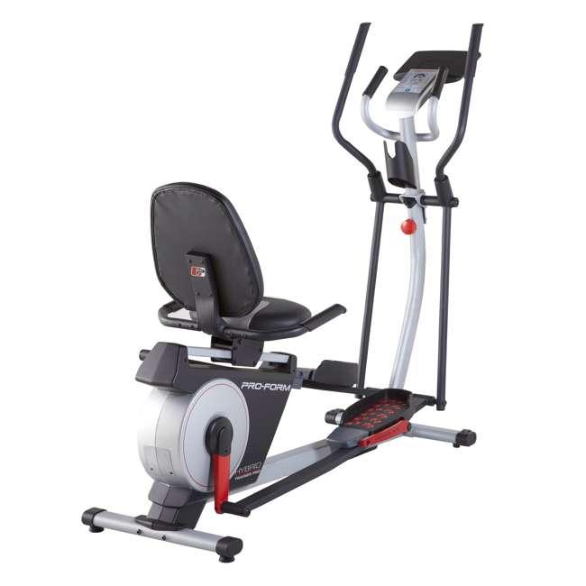 PFEL05815 + WAWkB2017 ProForm Exercise Bike & Elliptical and Weider 20 Pound Kettlebell 1