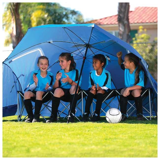 BRE01-SUP-075-2 Sport-Brella Super-Brella 8-Foot Portable Sun Shelter Weather Umbrella, Blue  4