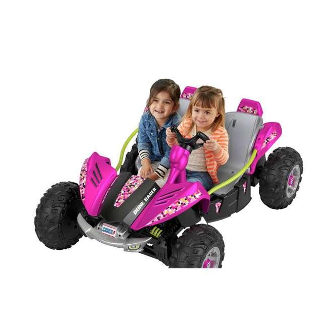 FLP27 + 74777 Power Wheels Battery Toy Car w/ Extra 12 Volt Rechargable Replacement Battery 2