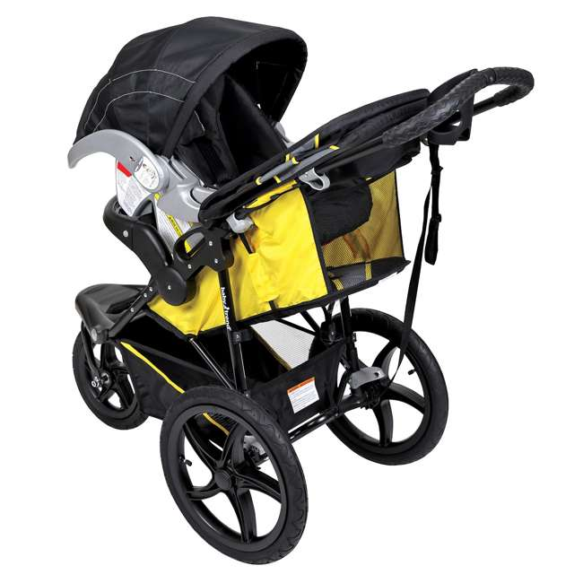 JG95A16A Baby Trend XCEL Jogger Stroller, Lemon Zest  1