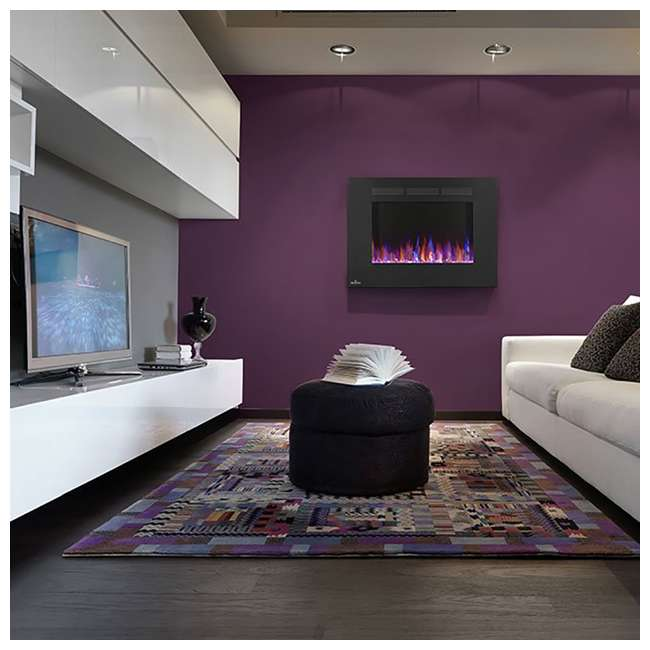 NEFL32FH-OB Napoleon Allure 32-Inch 5000 BTU Wall Hanging Electric Fireplace (Open Box) 1