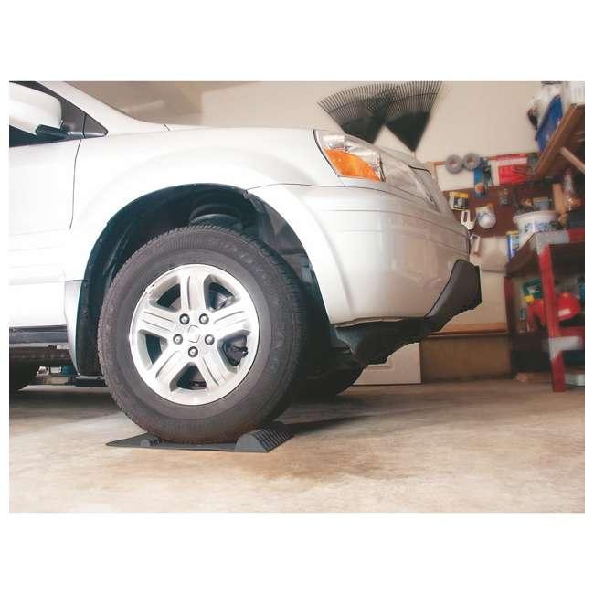 37358 MAXSA 37358 Park Right 21 x 11-Inch Heavy Duty Vehicle Tire Parking Mat, Black 1