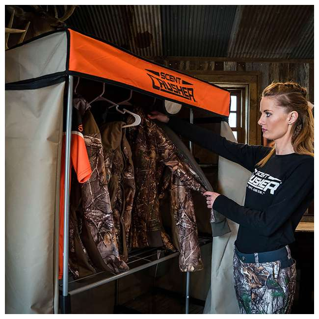 Scent Crusher Flexible Hunter S Closet With Ozone