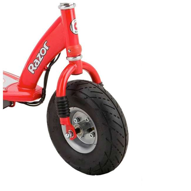 13113697 + 13113614 Razor E300 Electric Motorized Scooters, 1 Red & 1 Gray 5