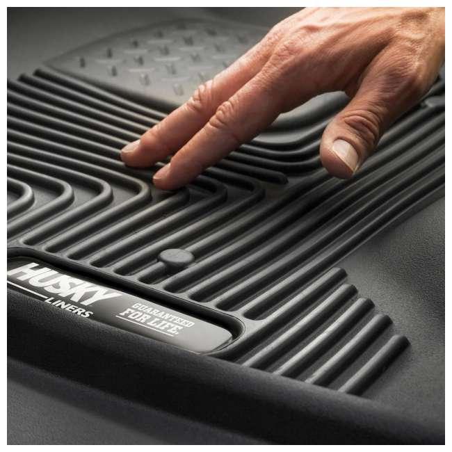 HUSKY-53491-OB Husky Liner X-act Contour Rear  Floor Liner for Ford F150 SuperCrew Cab 2
