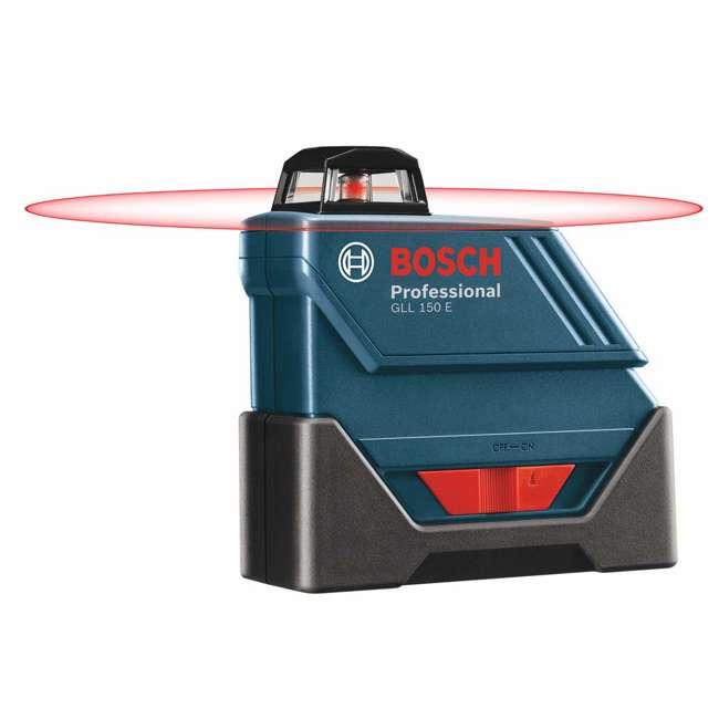 GLL 150 ECK-RT-RB Bosch GLL 150 ECKRT Self Leveling 360 Degree Laser Level (Certified Refurbished) 1