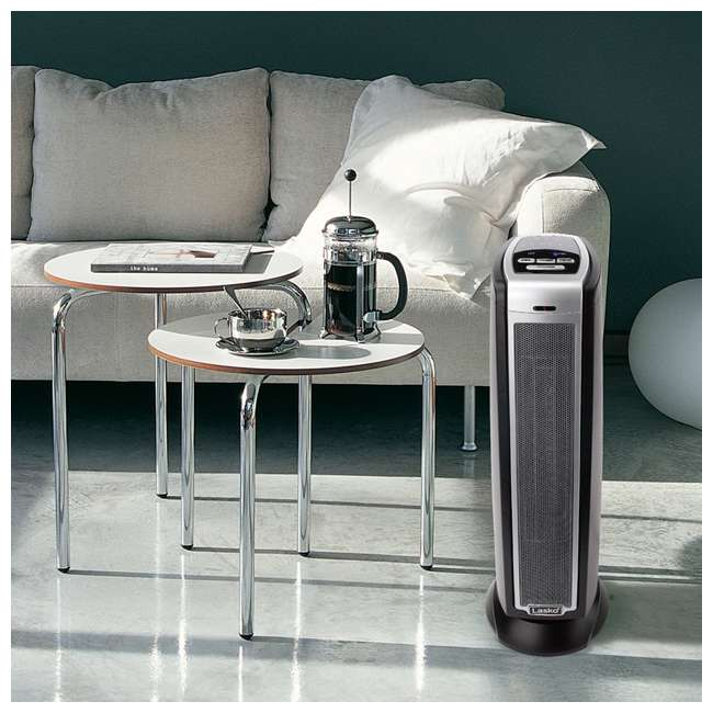 LKO-5790-TN Lasko 5790 Portable Electric 1500W Room Oscillating Ceramic Tower Space Heater 5
