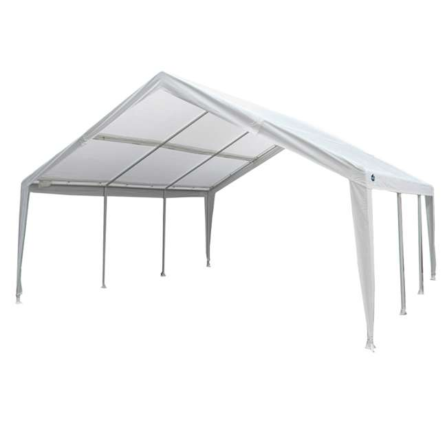 EX1220 King Canopy 12 x 20, 20 x 20 Foot Universal Canopy White