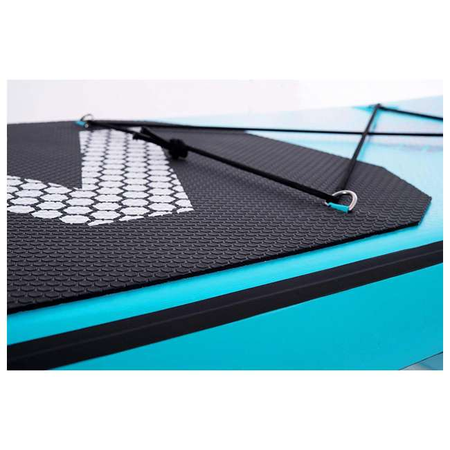 SUP-AM-PADDLEBOARD-VAPOR Aqua Marina Vapor 9.8 Foot Inflatable SUP Stand Up Paddle Board Kit with Pump 7
