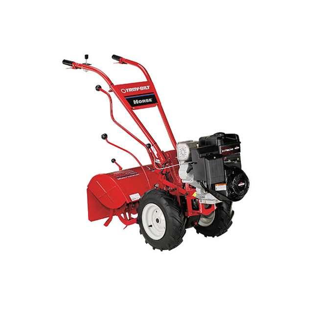 "TB-21A-682T766 Horse 306cc 20"" Forward Rotating Rear Tine Tiller, Red"