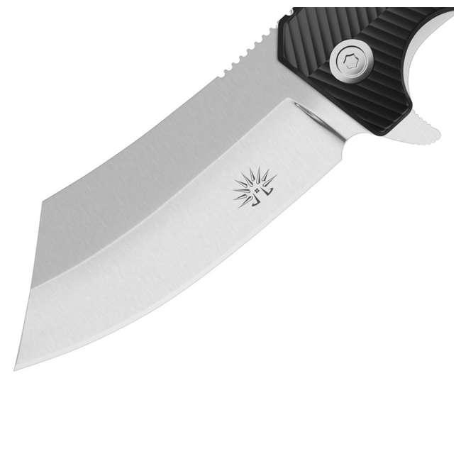 X001QFJKOV - 7777891256 Seadog Off-Grid Knives Seadog Hard Use AUS8 Blade Steel EDC Assisted Flipper Knife 2