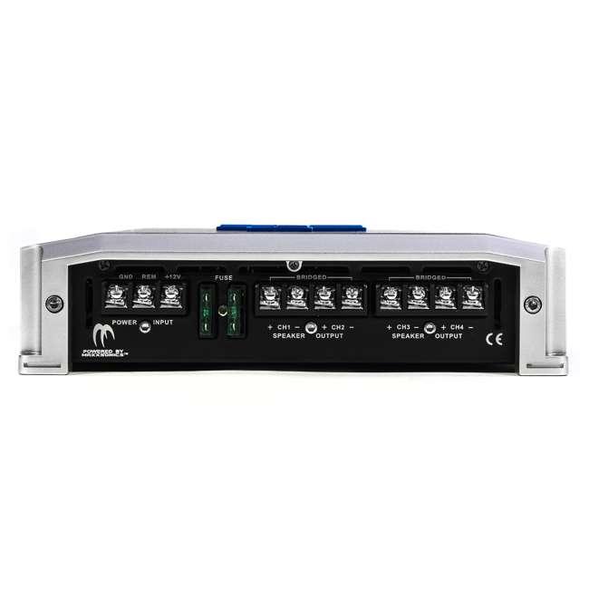4 x TA1050.4 Autotek TA1050.4 4 Channel 1000W Amp Class A/B Power Amplifier (4 Pack) 3