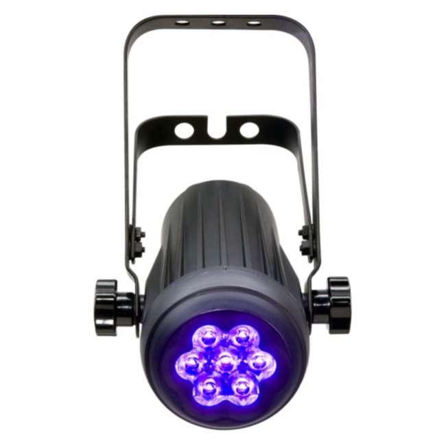4 x COLORDASH-ACCENTUV 4) Chauvet Colordash Accent UV Led - 2 Ch. Dmx DJ Stage Dance Club Effect Lights 2