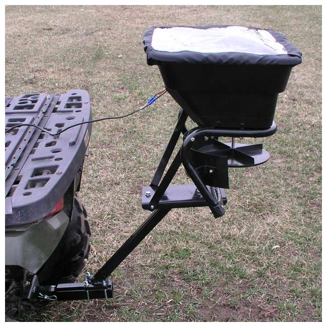 AS-80ATV12 Field Tuff ATV Hitch-Mount 80-Pound Seed and Fertilizer Spreader 2