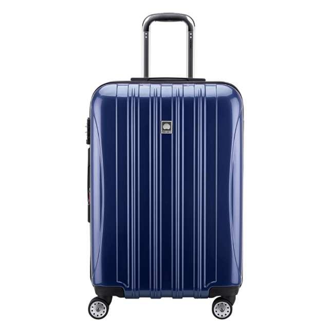 "07647BD DELSEY Paris Aero 25"" Lightweight Hardside Expandable Rolling Travel Bag, Blue"