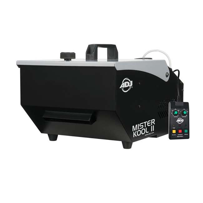 MISTER-KOOL-II + 2 x BLACK-48BLB American DJ Mister Kool II Fog Machine + ADJ 48 In. Black Light Fixture (2 Pack) 1