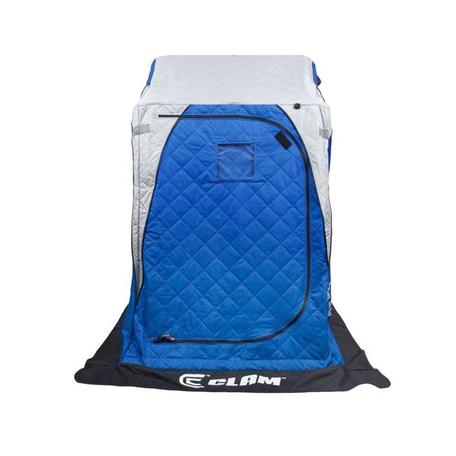 CLAM-12564 Clam 12564 Legend XL Thermal Ice Fishing Shelter with Deluxe Swivel Seat, Blue 2