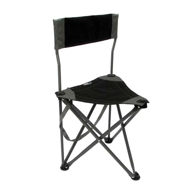 1489V2BK TravelChair Ultimate Slacker 2.0 Portable Outdoor Folding Stool Seat, Black 3