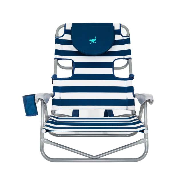 OYB-1003S Ostrich On-Your-Back Reclining Lounge Beach Chair 1