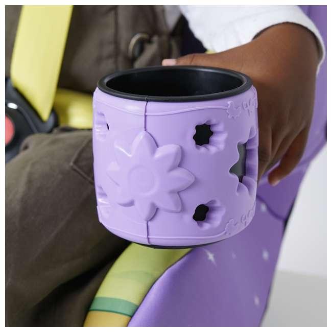 KE-3001TIA KidsEmbrace 2 in 1 Convertible Forward Facing Car Seat, Disney Princess Tiana 6