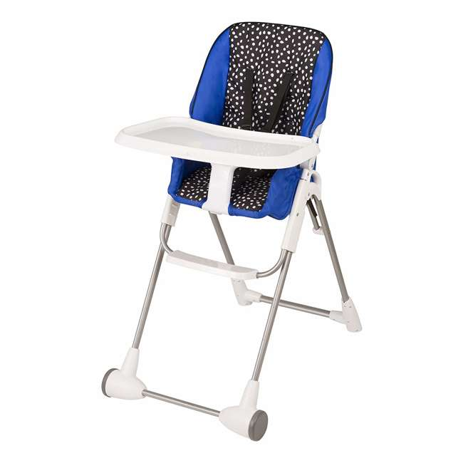 EVEN-25311874 Evenflo Symmetry Foldable Baby Toddler High Chair, Hayden Dot