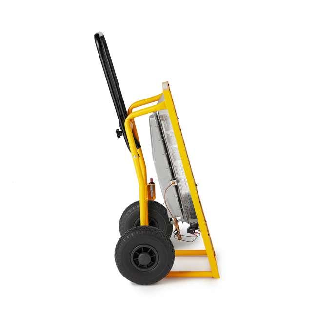 MH-F340620 Dewalt 45,000 BTU Radiant Propane Portable Job Site Heater 3