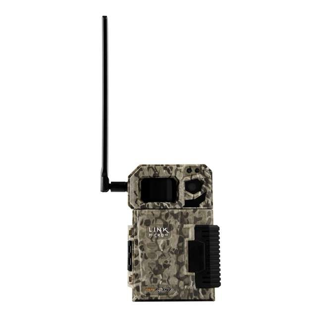 MICROUS + BATT SPYPOINT LINK MICRO Nationwide Cellular Hunting Trail Game Camera & Battery 1