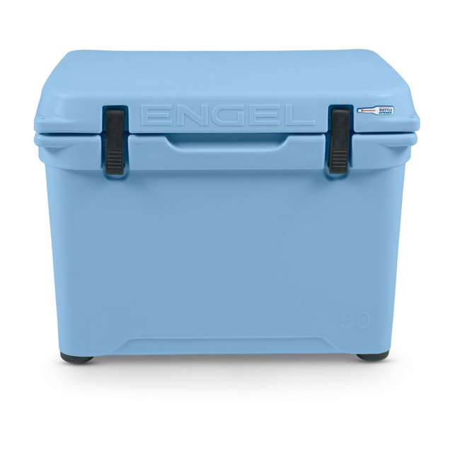 ENG50-B Engel Coolers ENG50 48 Quart 60 Can High Performance Roto Molded Cooler, Blue