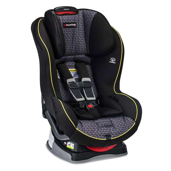 E1A889P Britax Essentials Emblem Convertible Car Seat, Pulse (2 Pack) 2
