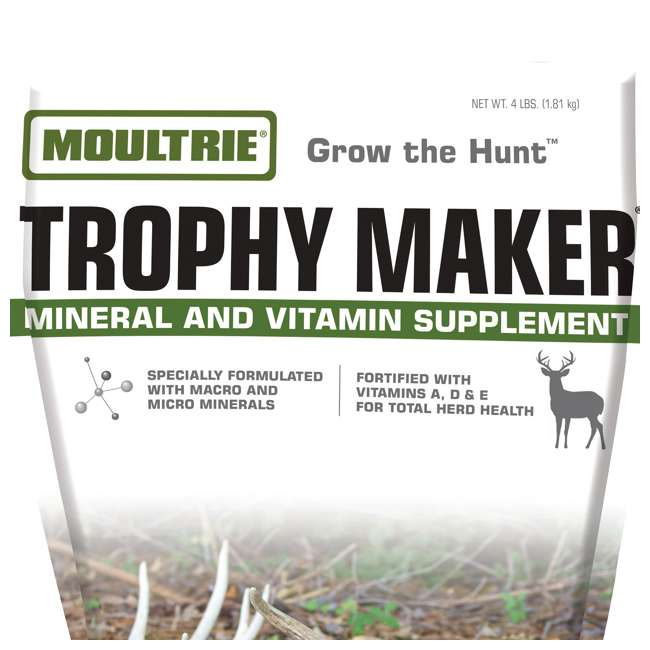 MFS-13079 Moultrie Trophy Maker Nutritional Mineral & Vitamin Supplement 1