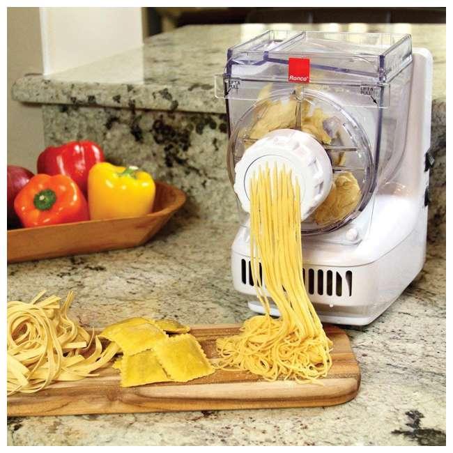 PM1305WHGEN Ronco Electric Pasta and Sausage Maker, White 3
