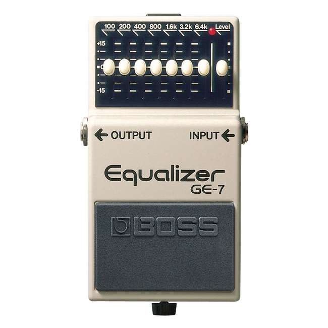 GE-7 Boss Adjustable Graphic Equalizer Guitar Pedal